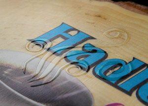 stampa digitale diretta legno