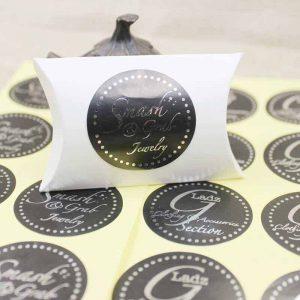 etichetta bomboniera silver
