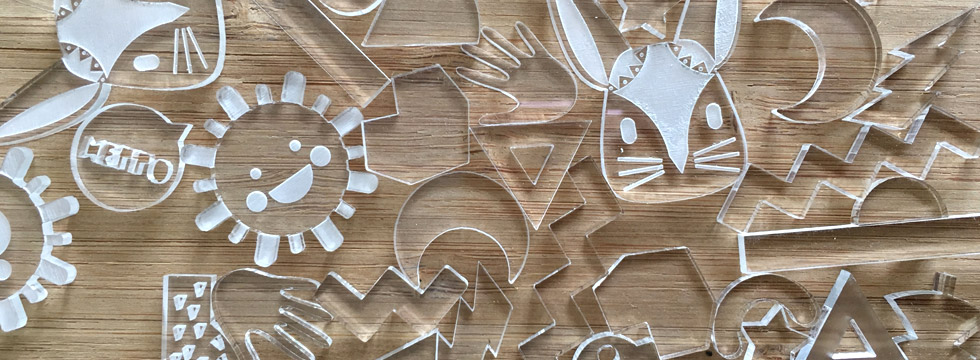 Taglio Laser Plexiglass su Misura